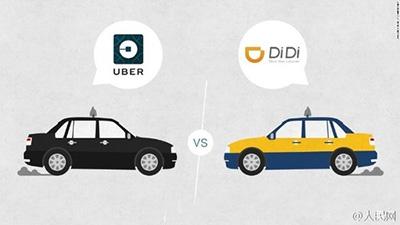 Uber China осуществляет объединение сDidi Chuxing