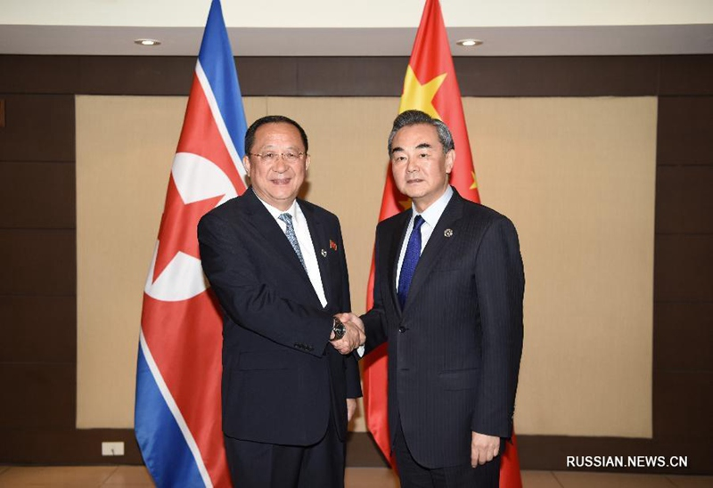 Ван И выразил надежду что все стороны сделают правильный выбор в этот важный для Корейского полуострова момент