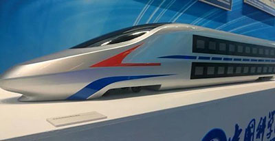 Стала известна концептуальная модель будущего двухэтажного высокоскоростного поезда Китая
