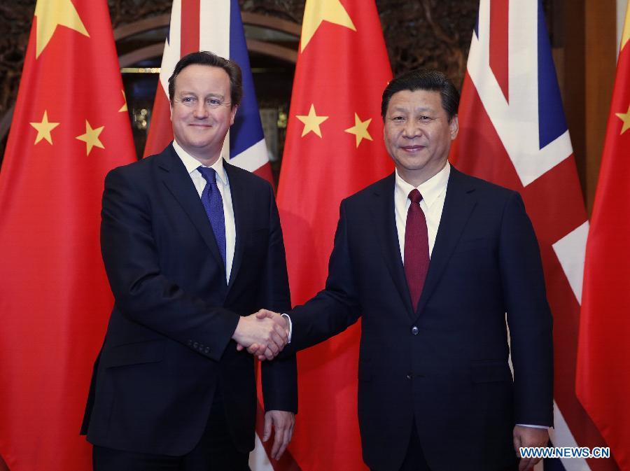 Си Цзиньпин предрек блестящее будущее отношениям Китая и Великобритании